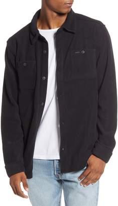 RVCA Uplift II Button-Up Fleece Shirt