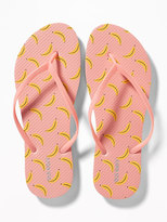 Old Navy Patterned Flip-Flops for Women