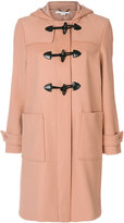 Stella McCartney hooded duffle coat - women - Cotton/Polyamide/Viscose/Wool - 38