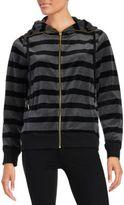 Calvin Klein Striped Funnelneck Jacket