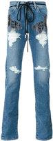 Off-White 'Diag' slim jeans - men - Cotton/Polyester - 32