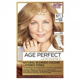 L'Oreal Excellence Age Perfect 6 1/2. 3 Lightest Warm Golden Brown 1 pack