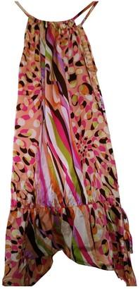 American Retro Multicolour Silk Top for Women