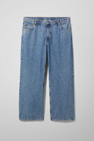 Thumbnail for your product : Weekday Ace High Wide Jeans - Blue