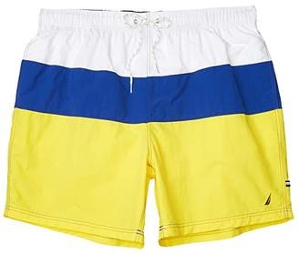 Nautica Big Tall Solid Swimwear (Blue) Men's Swimwear