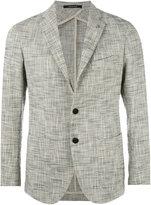Tagliatore patch pockets blazer - men - Cotton/Cupro/Abaca - 46