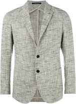 Tagliatore patch pockets blazer - men - Cotton/Cupro/Abaca - 54