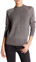DKNY Ribbed Wool Knit Sweater