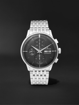 Junghans Meister Chronoscope 40mm Stainless Steel Watch, Ref. No. 27432445