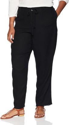 Dollhouse Women's Size Black Plus Linen 14