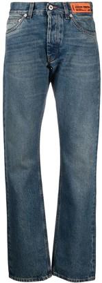 Heron Preston Low-Rise Straight-Leg Jeans