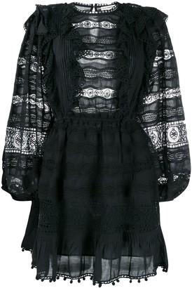 Ulla Johnson Crochet Mini Dress