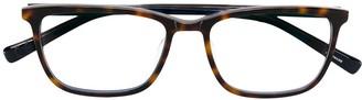 Epos Rectangular Framed Glasses