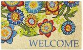 Pier 1 Imports Welcome Flowers Doormat