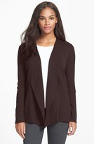 Eileen Fisher Women's Angled Front Shaped Cardigan