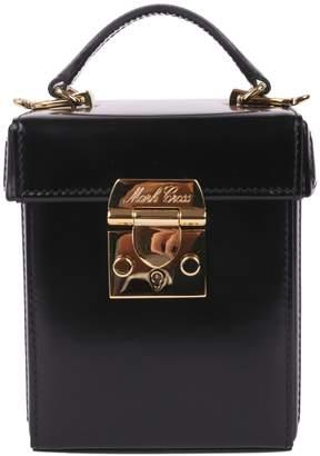 Mark Cross Black Grace Cube Mini Bag