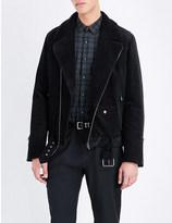 The Kooples Biker-style corduroy jacket