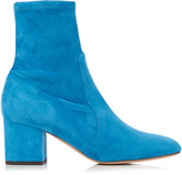 Valentino Block-heeled suede ankle boots