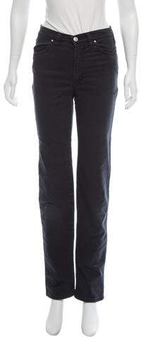 Versace Straight-Leg Mid-Rise Jeans