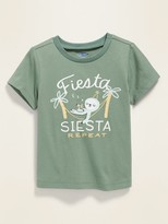 Old Navy Relaxed Crew-Neck Tee for Baby