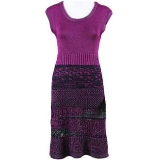 Chanel Purple Viscose Dresses