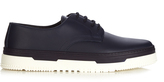 Valentino Point Break leather derby shoes