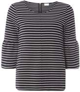 Vila **Vila Multi Coloured Stripe 3/4 Sleeve T-Shirt