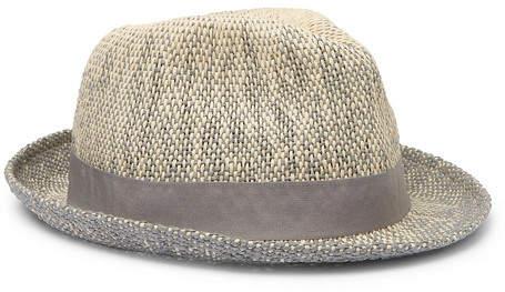 a7b785a2 Straw Trilby Hat Mens - ShopStyle