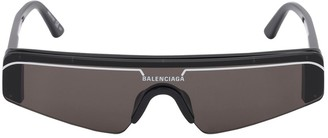 Balenciaga Ski Rectangle 0003s Acetate Sunglasses