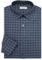 Charvet Windowpane Dress Shirt