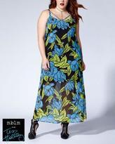 Penningtons Tess Holliday - Sleeveless Printed Maxi Dress