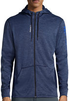 Reebok Workout Ready Mlange Graphic Full-Zip Hoodie