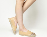 Office Lucky Espadrilles With Toe Cap