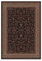Bed Bath & Beyond Concord Global Trading Jewel Kashan 7-Foot 10-Inch x 11-Foot 2-Inch Rug in Black