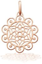 OAK Amazing dreams rose pendant charm