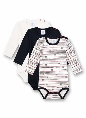 Sanetta Baby Boys' Body Mehrfachpack Broken White Toddler Underwear Set