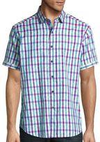 Robert Graham Gullies Checked Short Sleeve Shirt