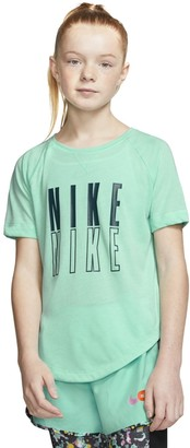 Nike Girls 7-16 Graphic Training Top