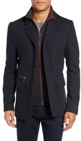 Ted Baker Extra Trim Fit Jersey Blazer with Removable Bib (Tall)