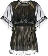 Maison Margiela sheer layered T-shirt