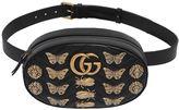 Gucci Medium Gg Marmont Belt Pack W/ Appliqués