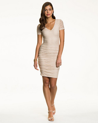Le Château Lace V-Neck Dress