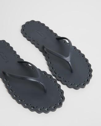 Carlotha Ray Edge Thong Flip Flops