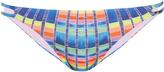 Mara Hoffman Flight Azure-print bikini briefs