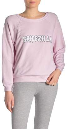 Wildfox Couture Sommers Bridezilla Sweatshirt