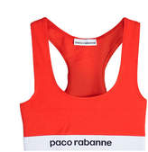 Paco Rabanne Logo Bra Top