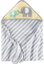 Carter's Baby Animal Velour Hooded Towel