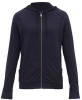 Paul Smith - Zip Through Hooded Cotton Sweatshirt - Mens - Navy
