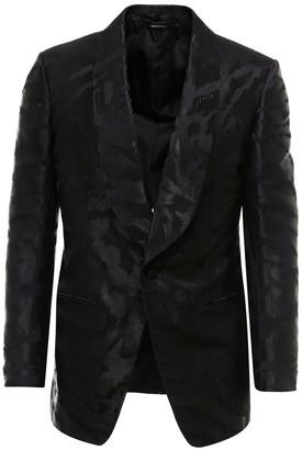Tom Ford Jacquard Tuxedo Blazer