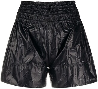 Aries Repeat Logo Shorts